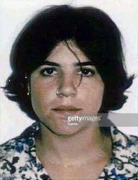 In this handout American tennis player Jennifer Capriati in a mug shot following her arrest with possession of marijuana Florida US 16th May 1994