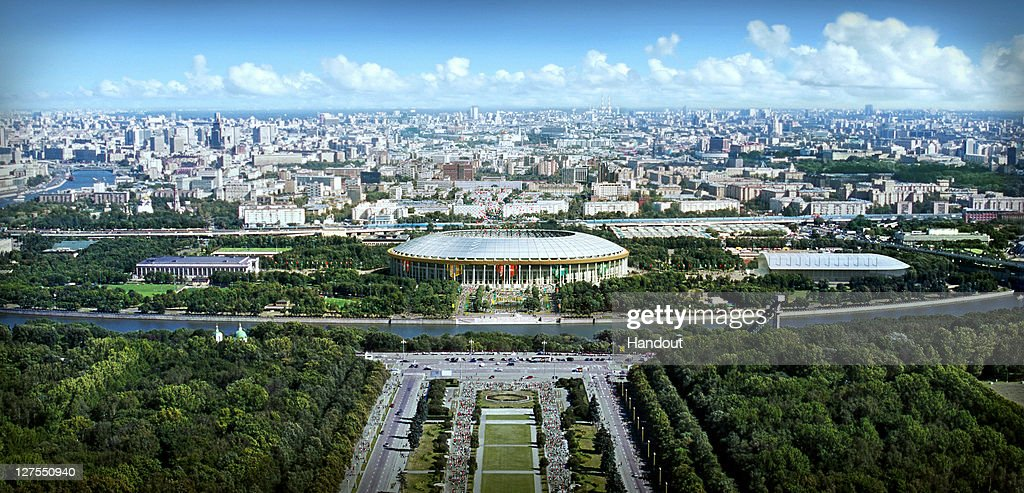Proposed Stadiums Of The Russia 2018 FIFA World Cup Bid : Nachrichtenfoto