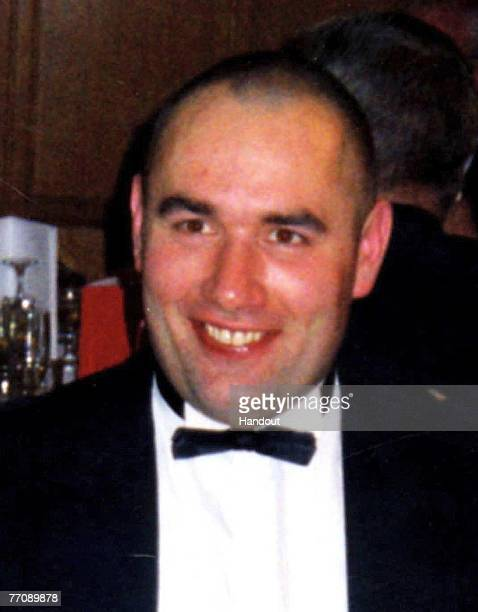 In this handout file photo issued by Strathclyde Police Graeme Duncan 37 whose funeral will take place today is pictured Graeme was a friend of rally...