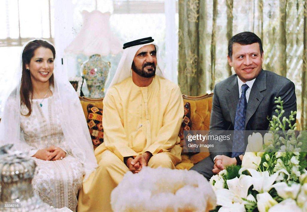 Amman's Crown Prince Married : News Photo