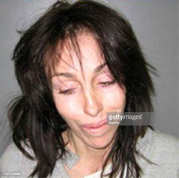 In this handout Heidi Fleiss in a mug shot following her arrest in Nevada US February 2008