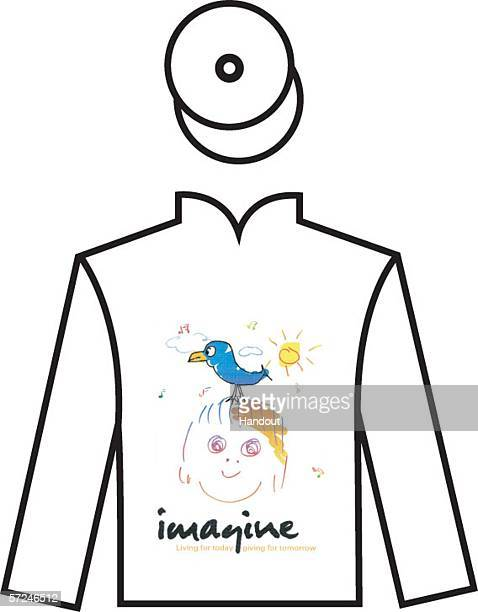 In This Handout Image A Jockey Silk Designed By John Lennon Is Seen After His Wife