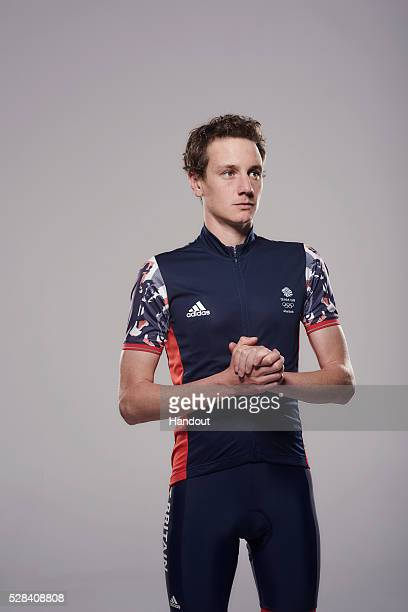In this handout image from adidas Team GB athlete Alistair Brownlee pictured in adidas Team GB Rio 2016 Olympic kit in London England