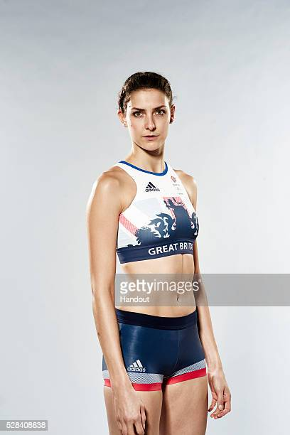 In this handout image from adidas Team GB athlete Isobel Pooley pictured in adidas Team GB Rio 2016 Olympic kit in London England