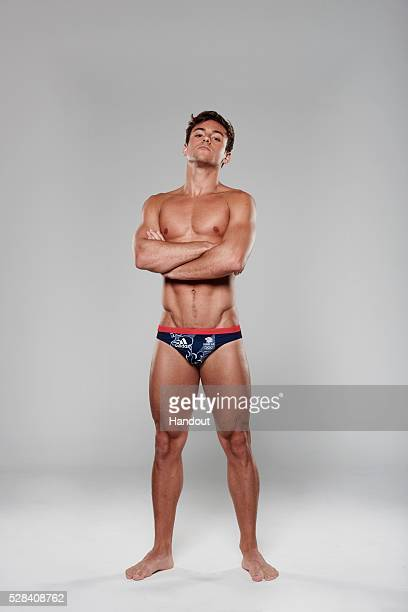 In this handout image from adidas Team GB athlete Tom Daley pictured in adidas Team GB Rio 2016 Olympic kit in London England