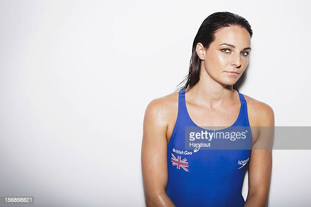 In this handout image from British Gas Swimmer Kerianne Payne of the British Gas Great Britain Swimming Team poses for a portrait