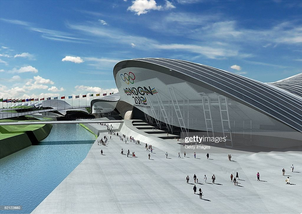 London 2012 Unveils The Details For The Olympic Park : News Photo