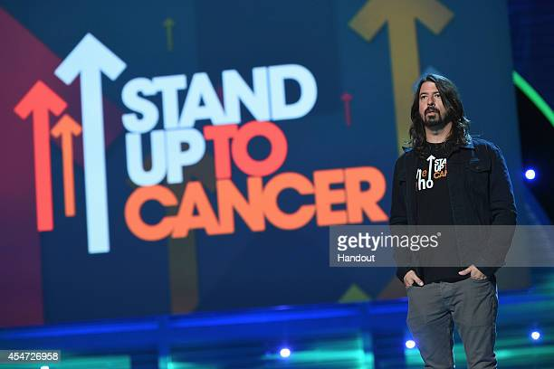 In this handout image provided by American Broadcasting Companies Inc Dave Grohl attends the 4th Biennial Stand Up To Cancer A Program of The...