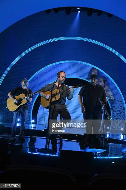 In this handout image provided by American Broadcasting Companies Inc Dave Matthews performs during the 4th Biennial Stand Up To Cancer A Program of...