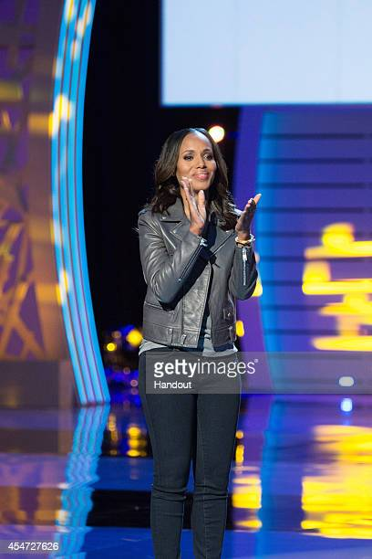 In this handout image provided by American Broadcasting Companies Inc Kerry Washington attends the 4th Biennial Stand Up To Cancer A Program of The...