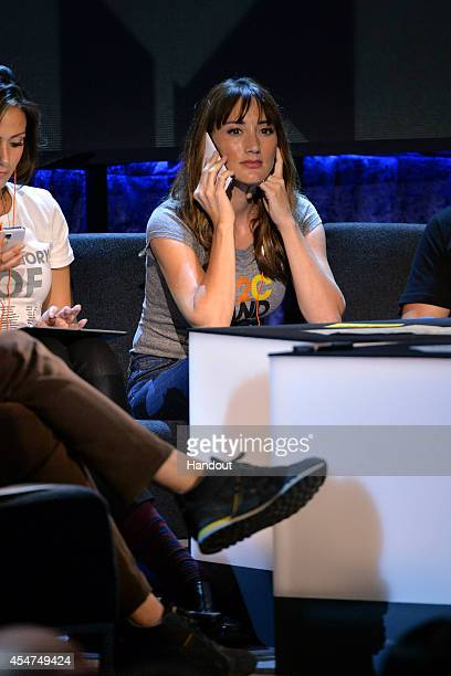 In this handout image provided by American Broadcasting Companies Inc., Bree Turner attends the 4th Biennial Stand Up To Cancer , A Program of The...
