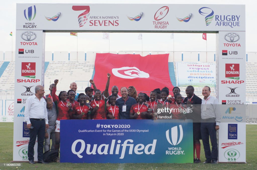 Rugby Africa - The Africa Women's Sevens : News Photo