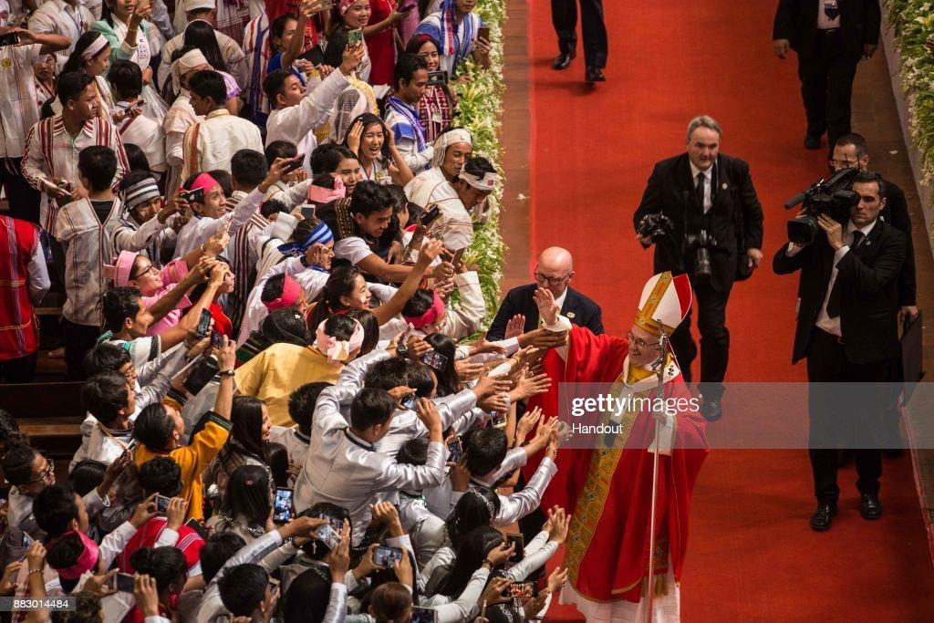 Pope Francis Visits Myanmar : ニュース写真