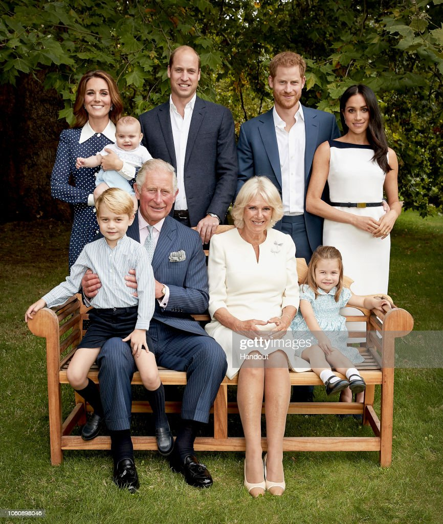 HRH The Prince of Wales Birthday Family Portrait : News Photo