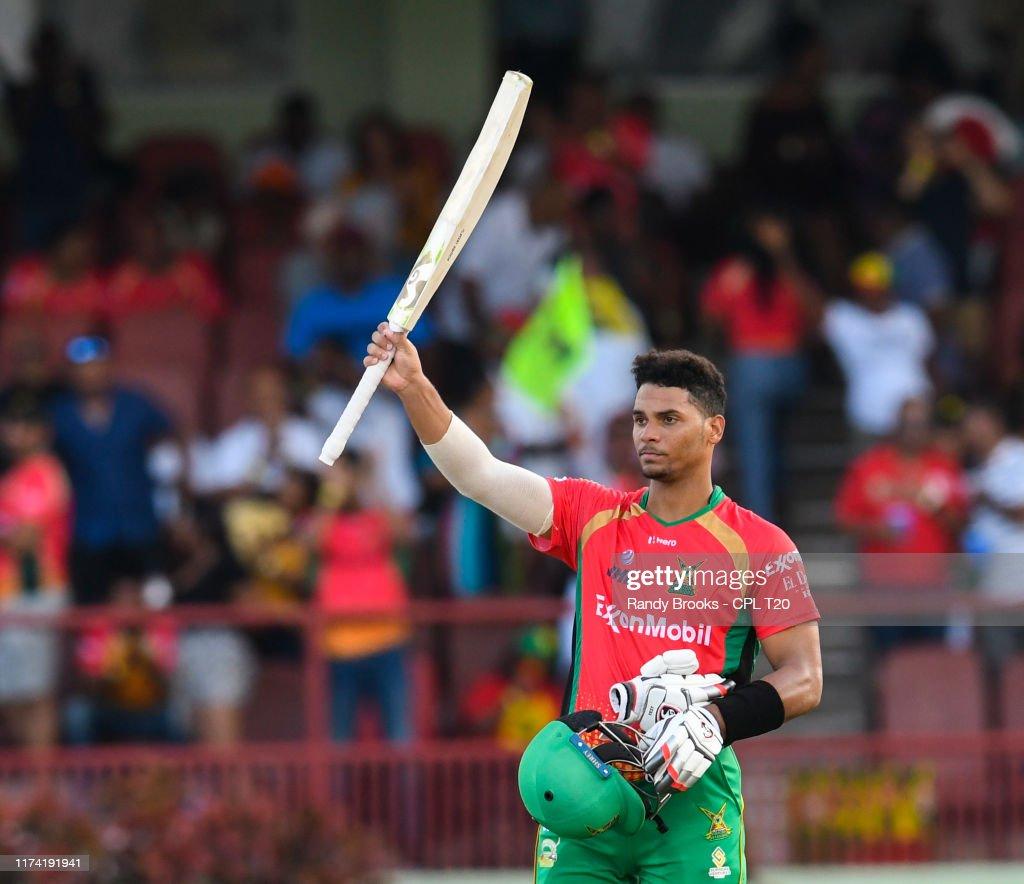 Guyana Amazon Warriors v Barbados Tridents - 2019 Hero Caribbean Premier League (CPL) Tournament Play-Off 2 : News Photo