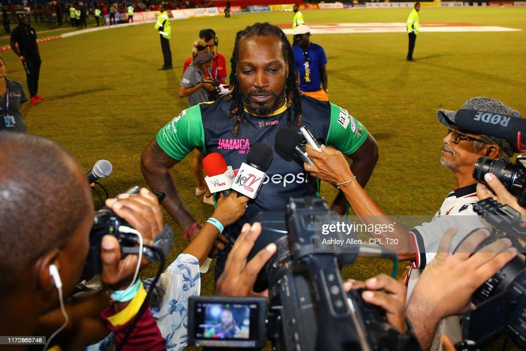 Trinbago Knight Riders v Jamaica Tallawahs - 2019 Hero Caribbean Premier League (CPL) : News Photo