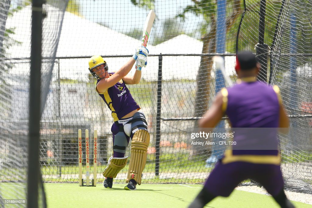 Trinbago Knight Riders Nets And Training Session