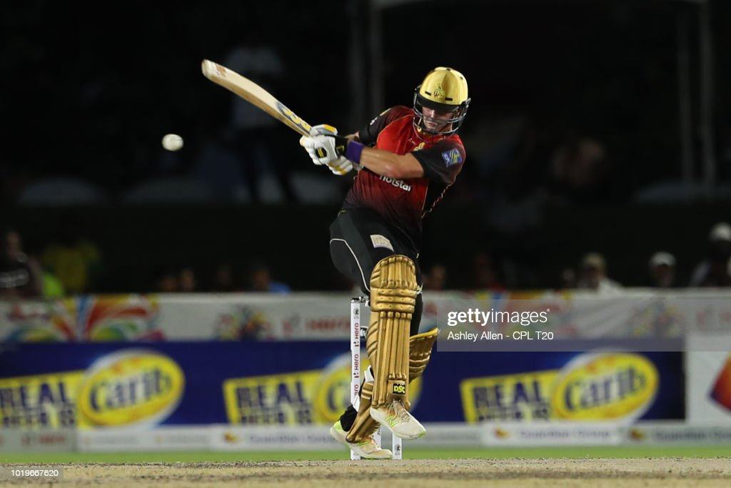 Jamaica Tallawahs v Trinbago Knight Riders - 2018 Hero Caribbean Premier League (CPL) Tournament : News Photo