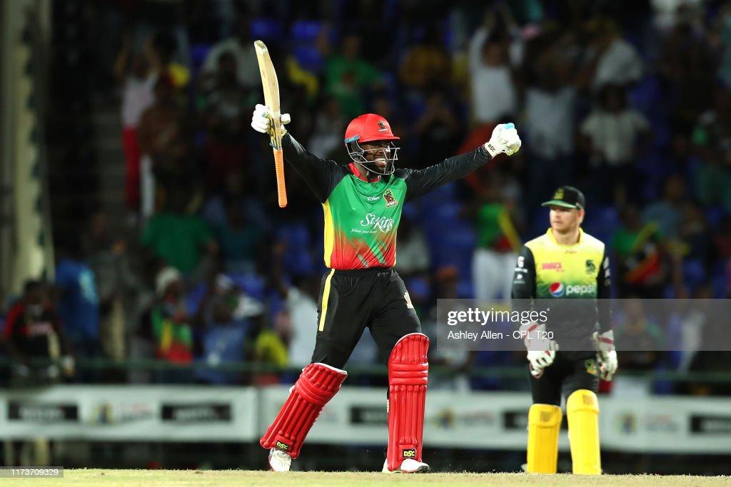 St Kitts Nevis Patriots v Jamaica Tallawahs - 2019 Hero Caribbean Premier League (CPL) : News Photo