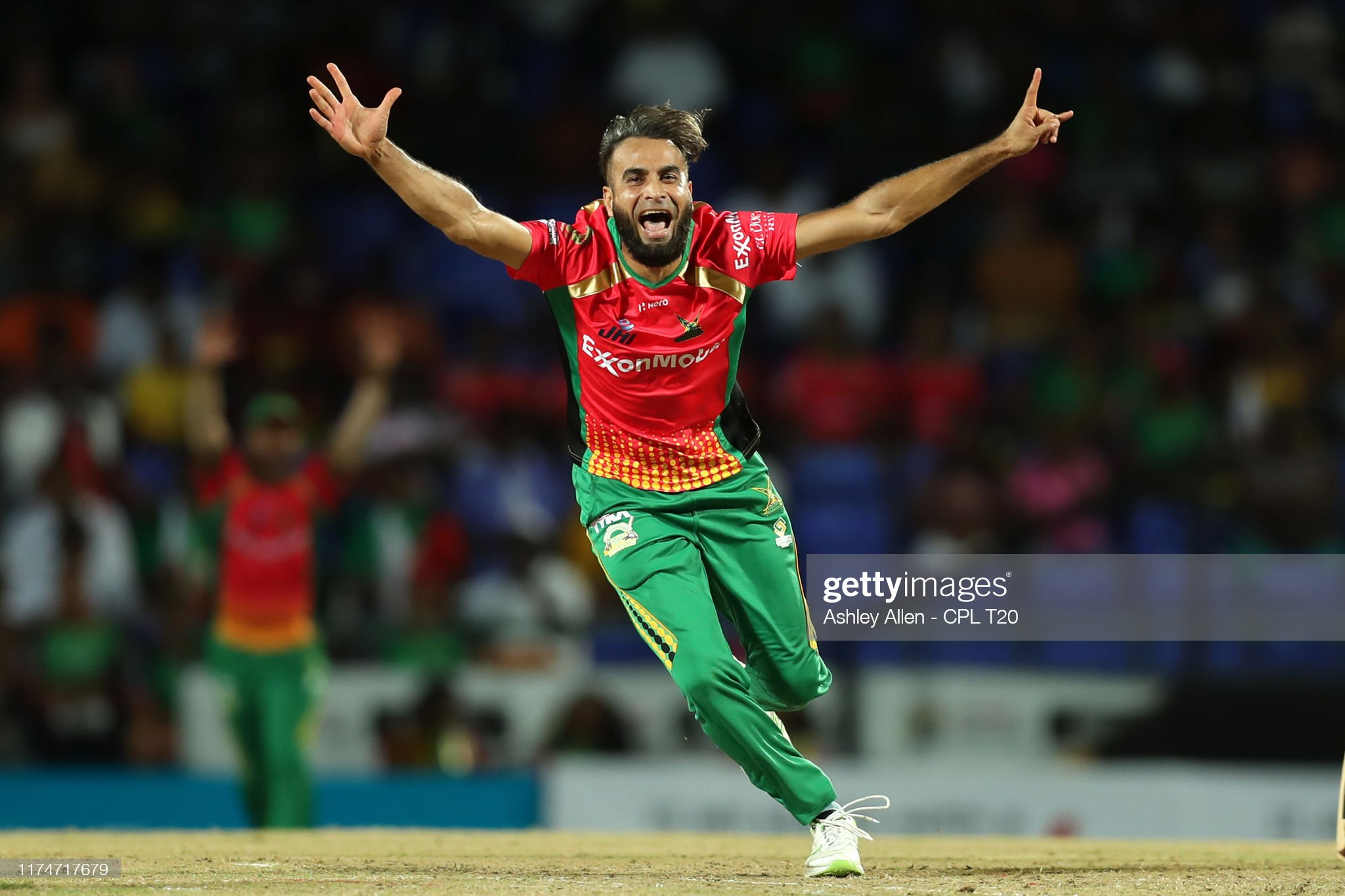 St Kitts Nevis Patriots v Guyana Amazon Warriors - 2019 Hero Caribbean Premier League (CPL) : News Photo