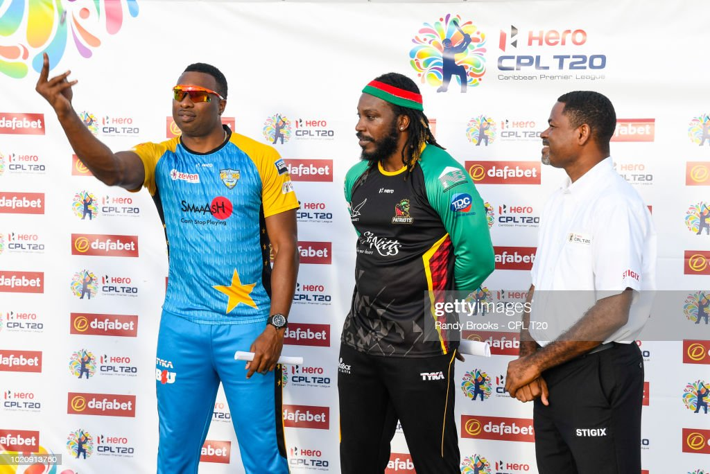 St Lucia Stars v St Kitts & Nevis Patriots - 2018 Hero Caribbean Premier League  Tournament