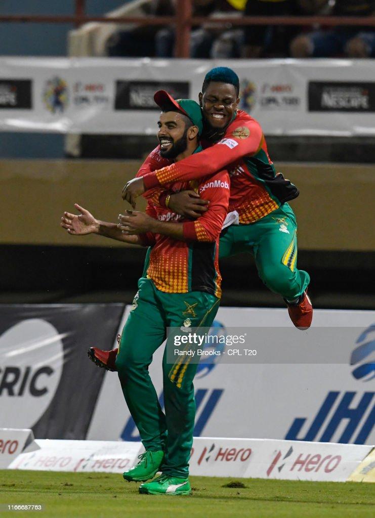 Guyana Amazon Warriors v St Kitts and Nevis Patriots - 2019 Hero Caribbean Premier League (CPL) : News Photo