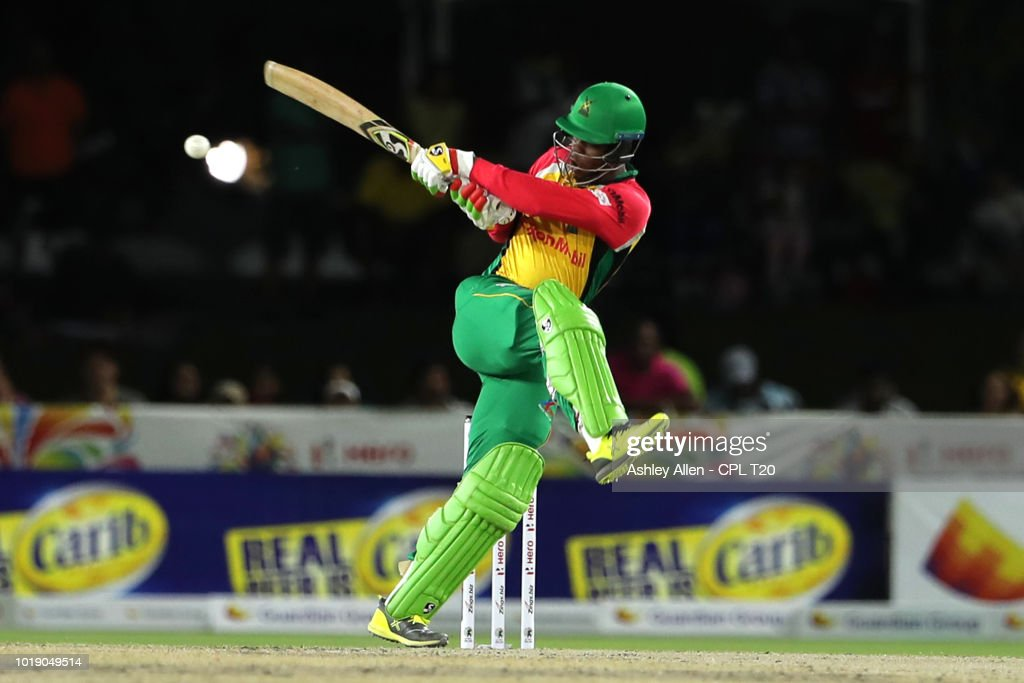 Jamaica Tallawahs v Guyana Amazon Warriors - 2018 Hero Caribbean Premier League (CPL) Tournament : News Photo