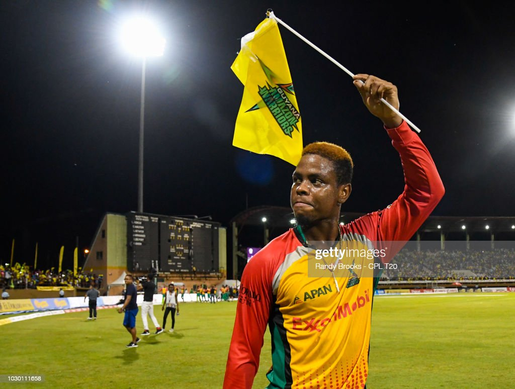 Guyana Amazon Warriors v Trinbago Knight Riders - 2018 Hero Caribbean Premier League (CPL) Tournament : News Photo