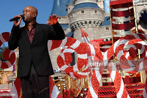 In this handout image provided by Disney former Hootie and the Blowfish lead singer and current country music artist Darius Rucker performs his new...