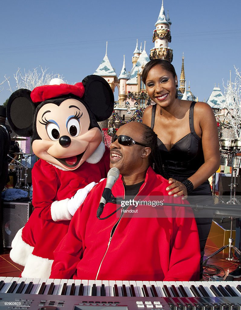 Stevie Wonder Christmas.In This Handout Image Provided By Disney Minnie Mouse