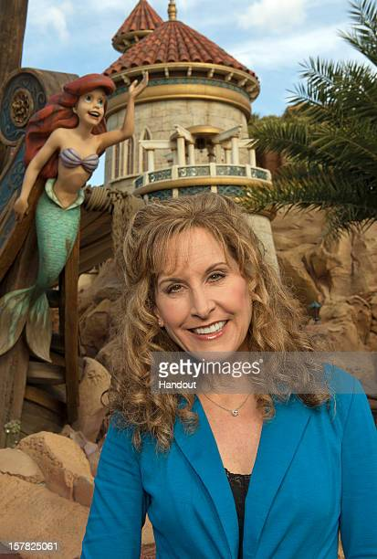 In this handout image provided by Disney Parks actress and singer Jodi Benson who provided the voice of Ariel in Disney's animated classic 'The...