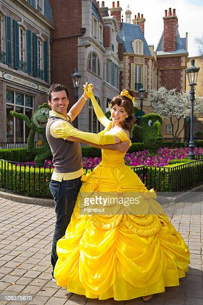 In this handout image provided by Disney Tony Dovolani one of the professional dancers starring on the ABCTV series Dancing with the Stars joins...
