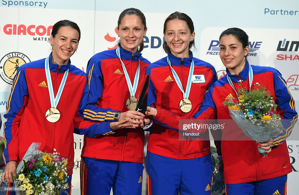 European Fencing Championships : News Photo