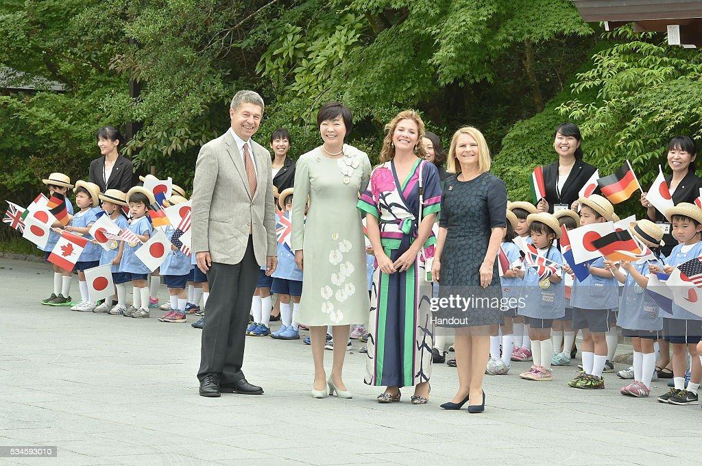 G7 Japan 2016 Ise-Shima - Day 1 : Nachrichtenfoto
