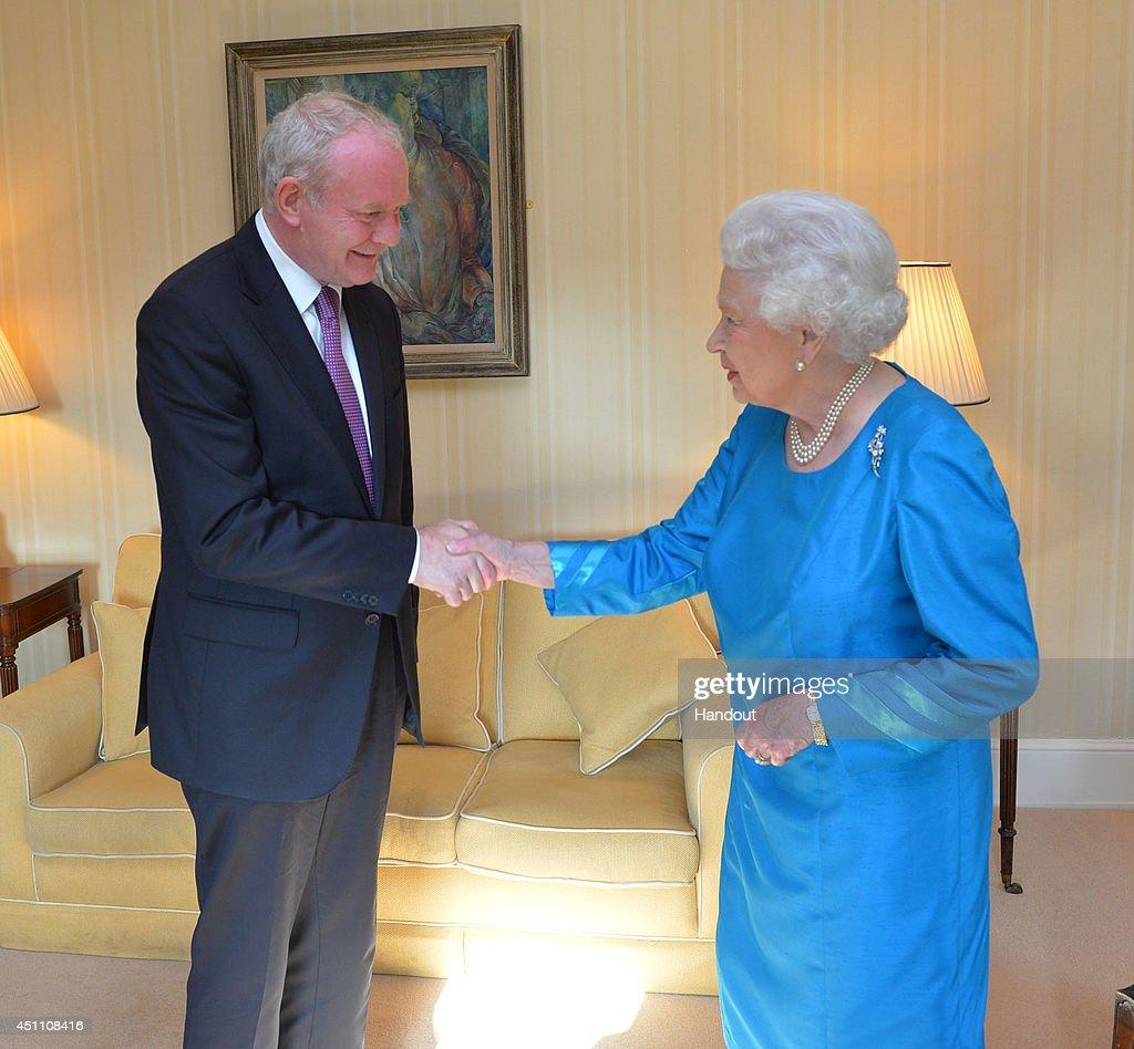Queen Elizabeth II And Duke Of Edinburgh Visit Northern Ireland