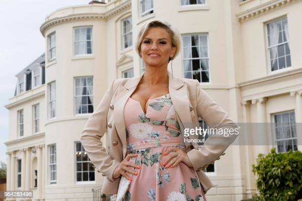 In this handout image provided by Hygrove House/Reward PR Kerry Katona officially opens The Hygrove a new and exclusive sanctuary where members can...