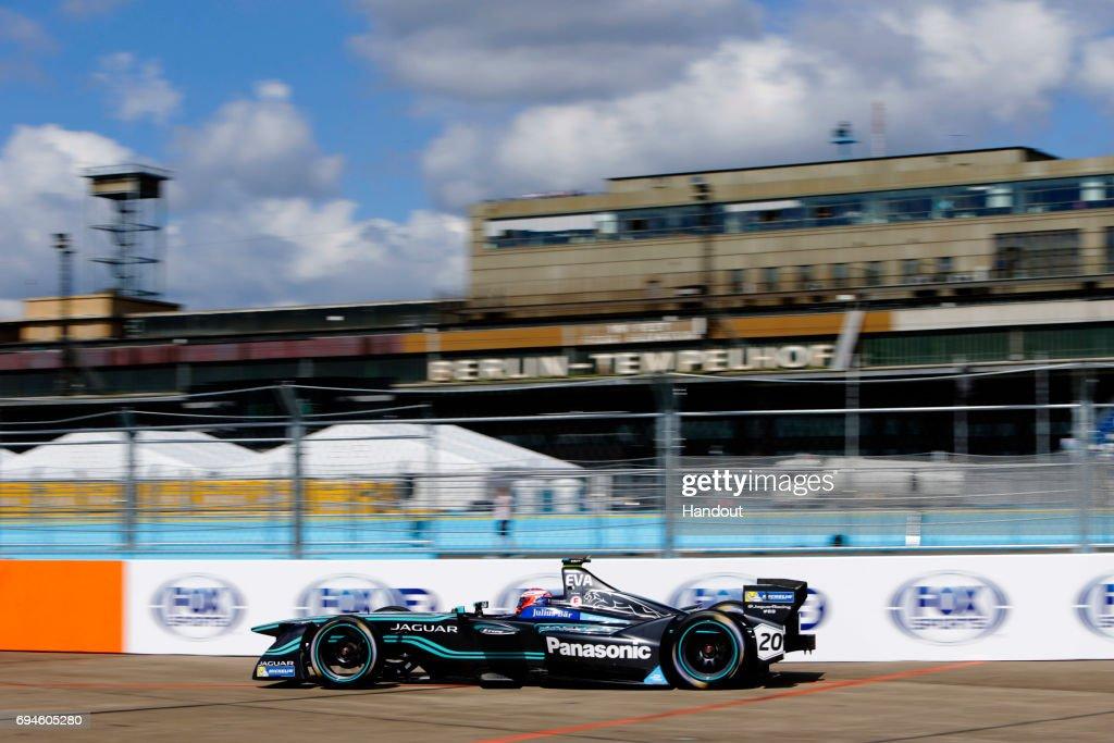 Formula E Berlin ePrix, : News Photo