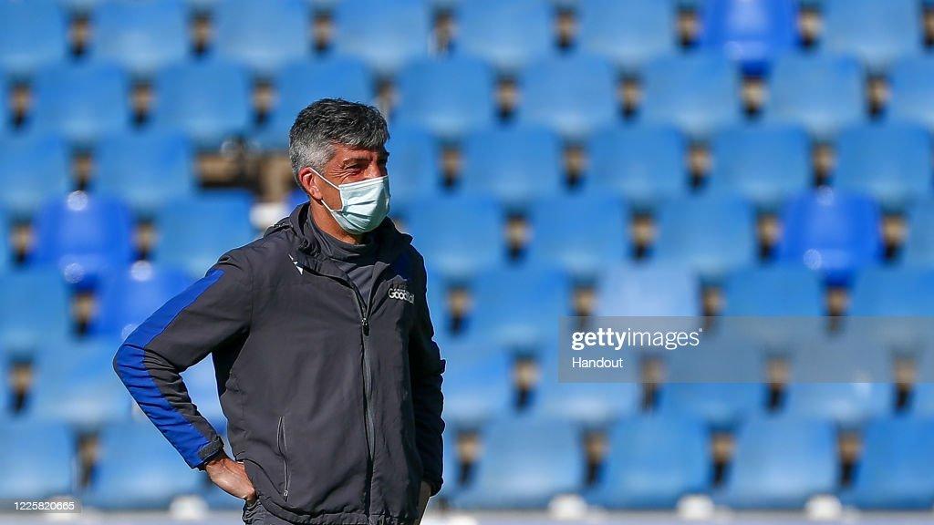 Real Sociedad Players Return To Training Following Coronavirus Lockdown : News Photo