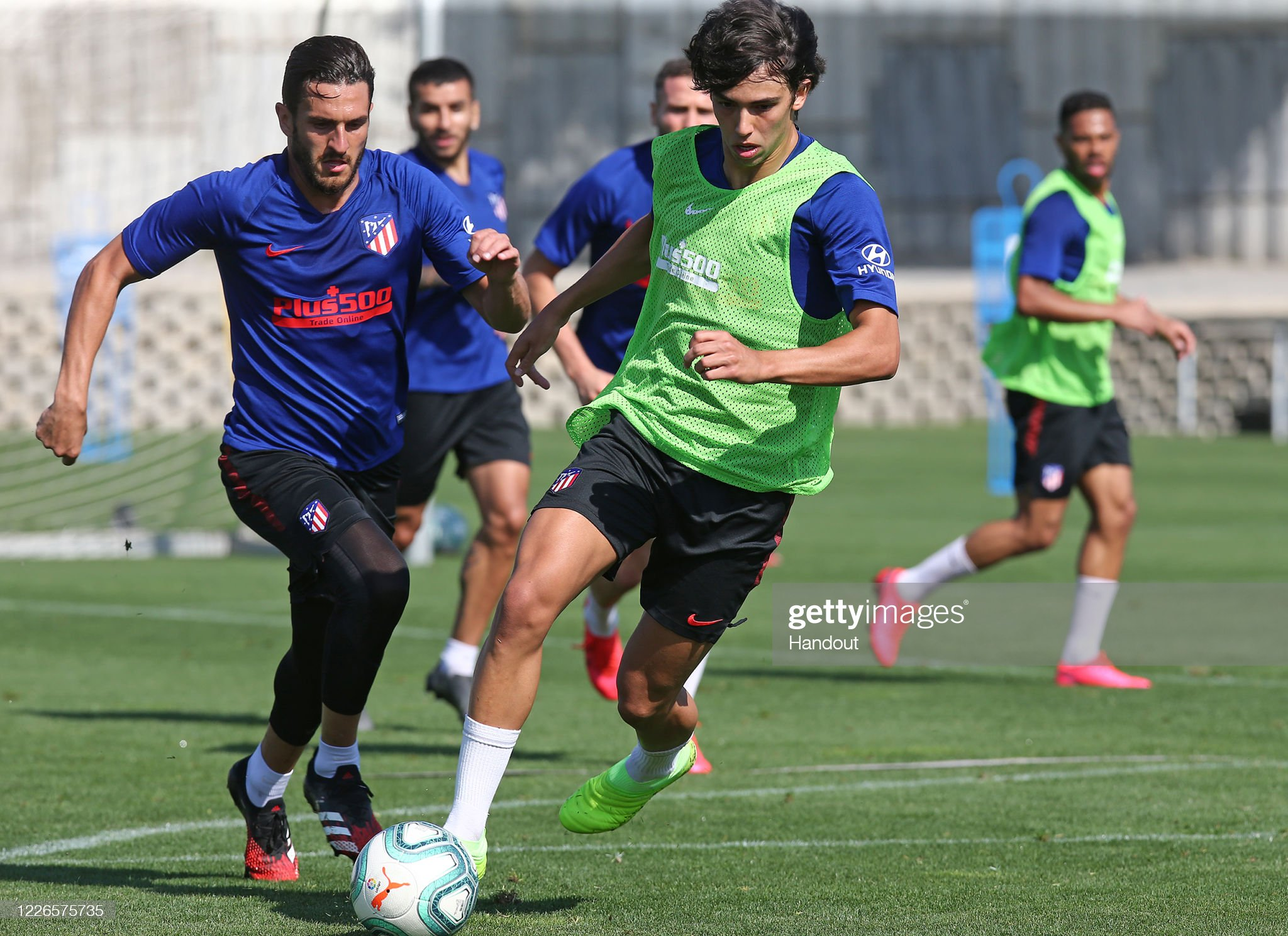 Atletico Madrid Players Return To Training Following Coronavirus Lockdown : News Photo