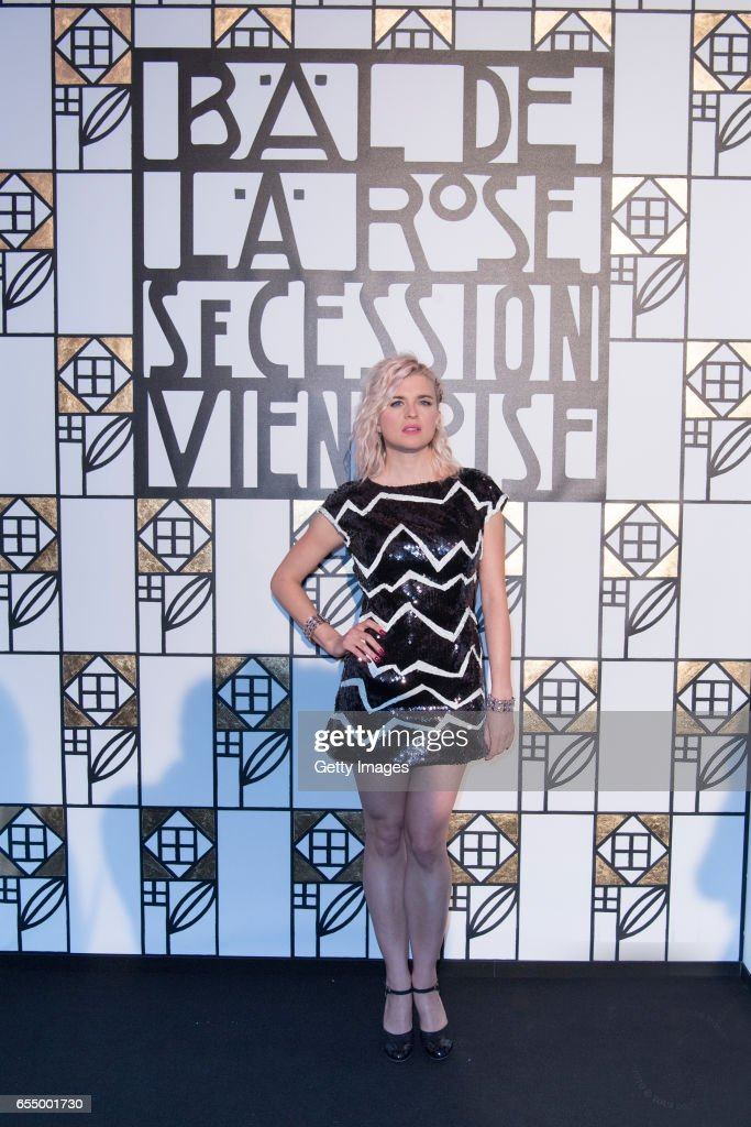 In this handout image provided by Le Palais Princier, Cecile Cassel attends the Rose Ball 2017 To Benefit The Princess Grace Foundation at Sporting Monte-Carlo on March 18, 2017 in Monte-Carlo, Monaco.