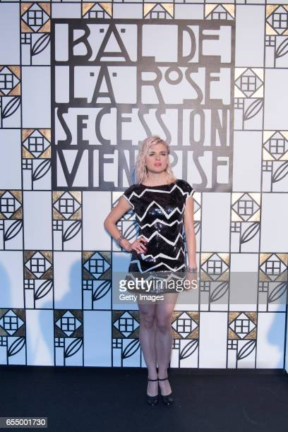 In this handout image provided by Le Palais Princier Cecile Cassel attends the Rose Ball 2017 To Benefit The Princess Grace Foundation at Sporting...