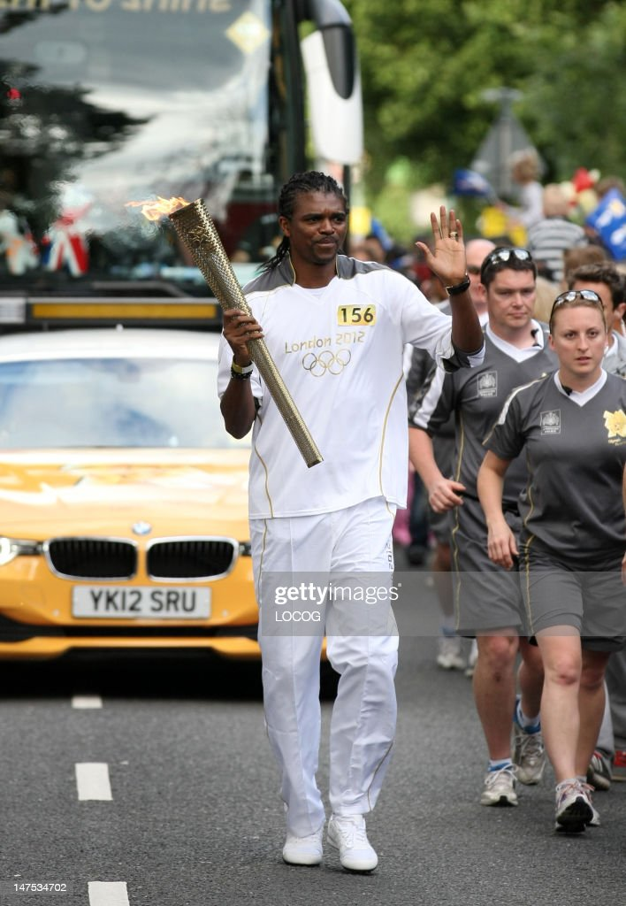 The Olympic Torch Continues Its Journey Around The UK
