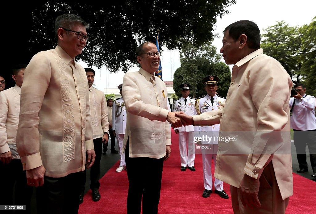 Rodrigo Duterte Sworn In As President Of The Philippines