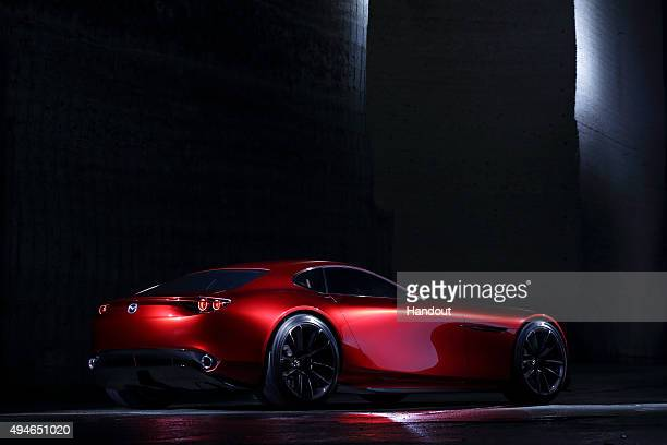 In this handout image provided by Mazda Motor Co on October 28 Mazda RXVISION is photographed in Japan