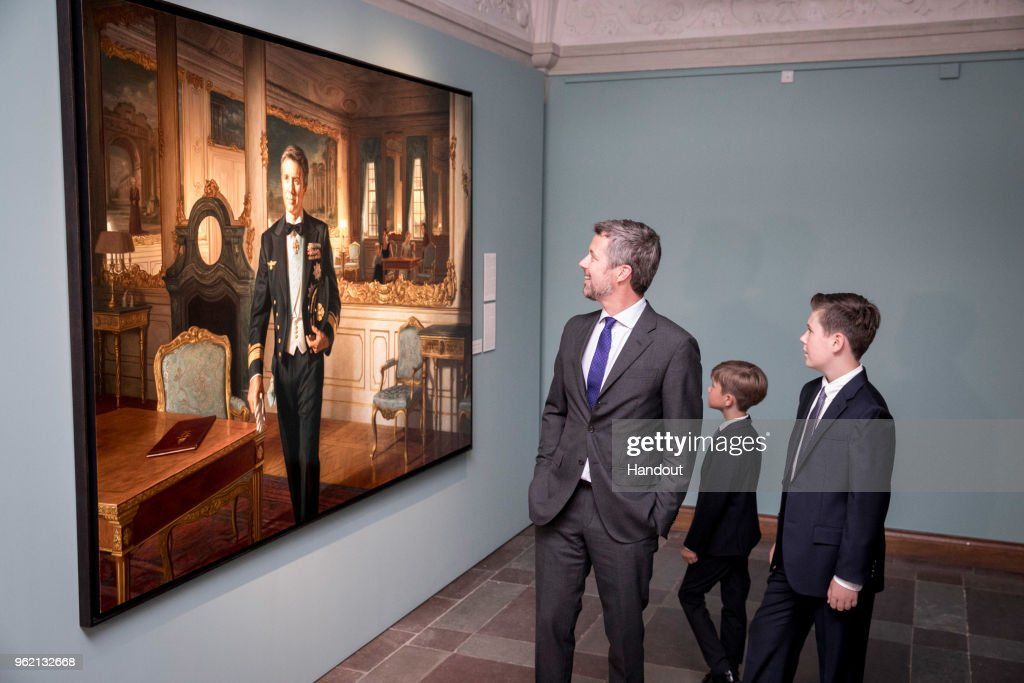 Portrait Unveiling And Exhibition Opening At Frederiksborg Palace : News Photo