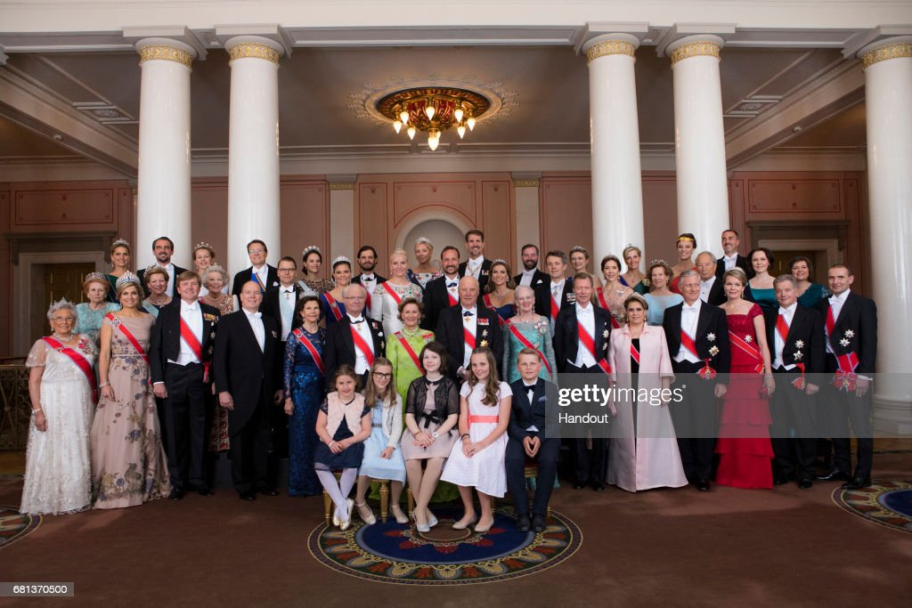 Official Picture To Commemorate The 80th Birthdays of The Norwegian Royals : News Photo