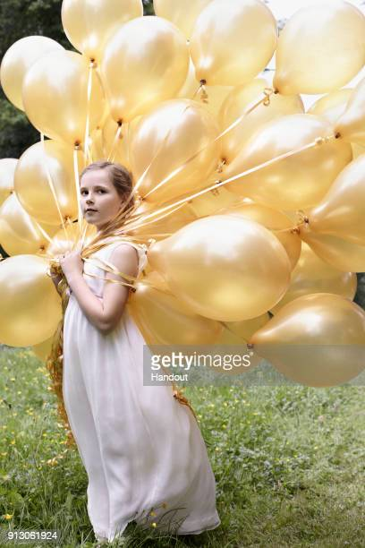 In this handout image provided by Norway's Royal Court, Princess Ingrid Alexandra of Norway is seen, published on the occassion of her 10th birthday...
