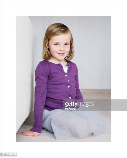 In this handout image provided by Norway's Royal Court Princess Ingrid Alexandra of Norway poses five years old in 2009