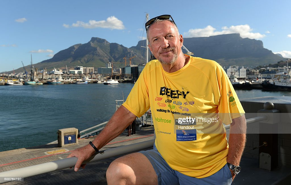 'Beefy Walking the Rainbow Nation' - Sir Ian Botham Charity Walk In South Africa