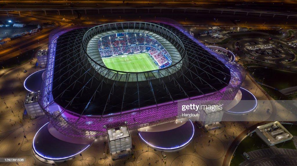 Qatar Inaugurates Fourth FIFA World Cup 2022 Venue, Ahmad Bin Ali Stadium : News Photo